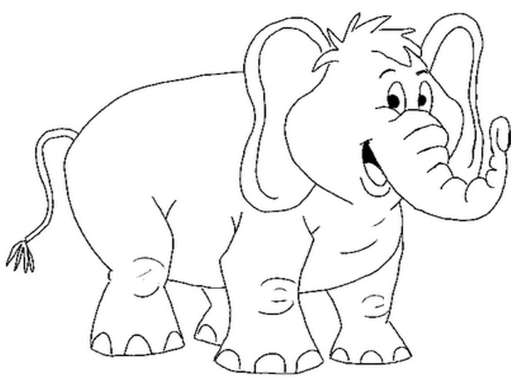Epic Elephant Coloring Page 45 On Coloring Site With Elephant