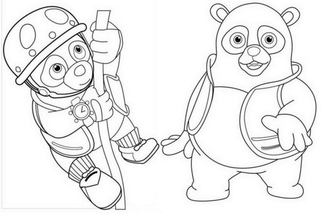 Smart Ideas Oso Coloring Pages Agent Oso For Kids Printable Free