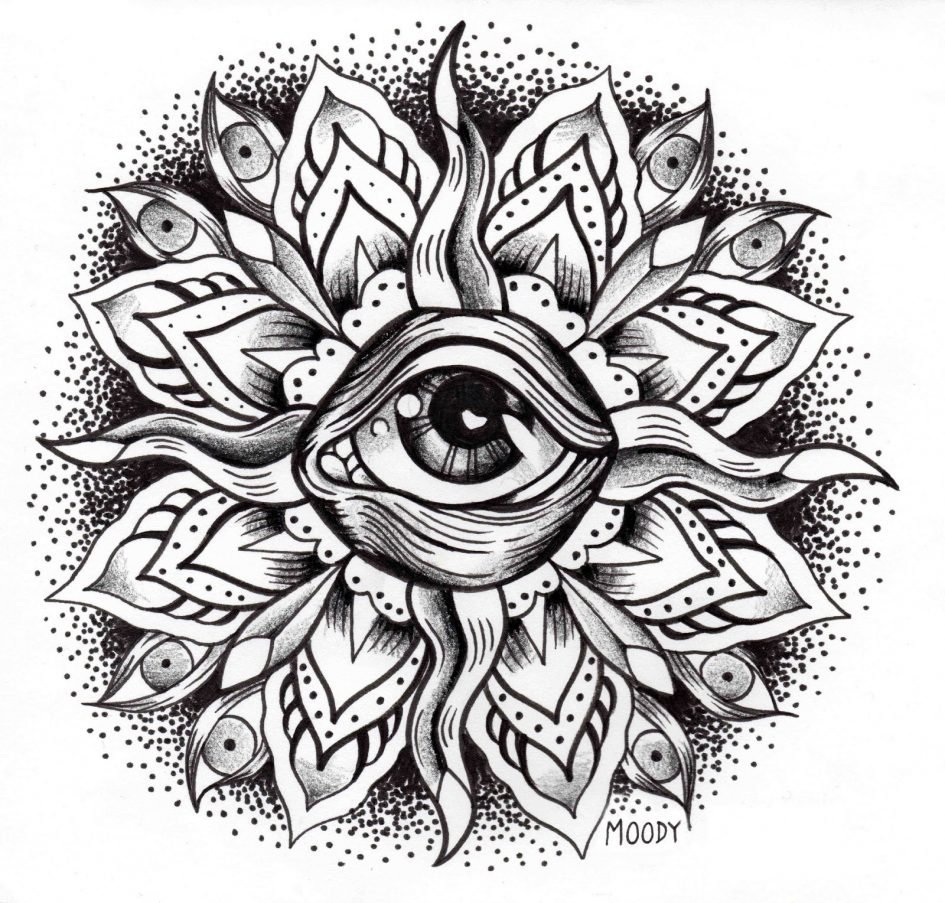 Download Coloring Pages  Eye Coloring Page Coloring Page Of An Eye
