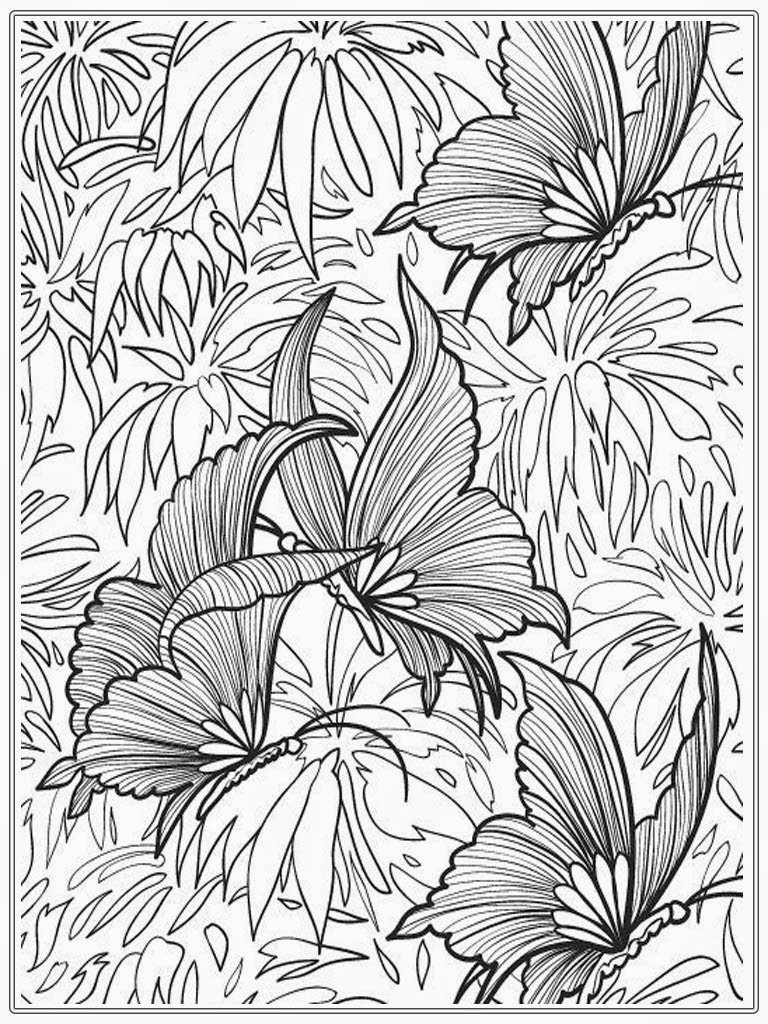 Free+butterfly+adult+coloring+pages Jpg 768×1,024 Pixels