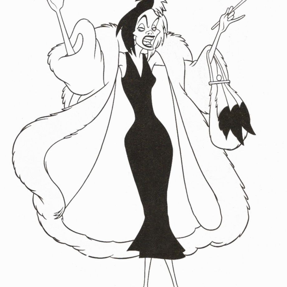 Disney Villain Coloring Pages