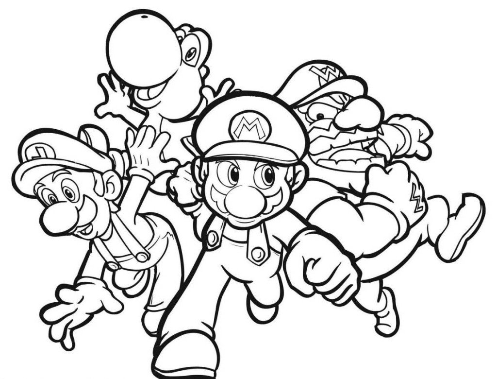 Full Page Printable Coloring Sheets