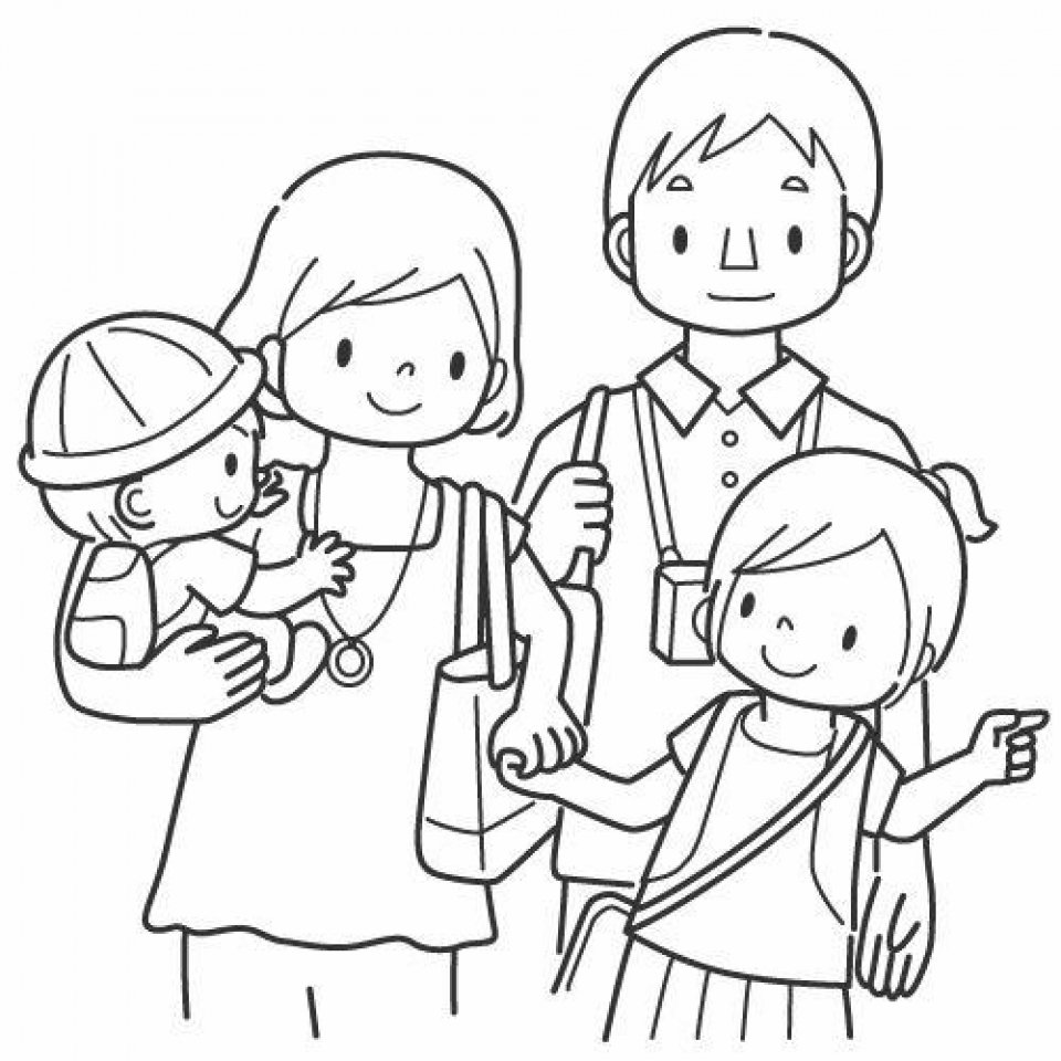 Get This Family Coloring Pages Printable For Kids R1n7l !