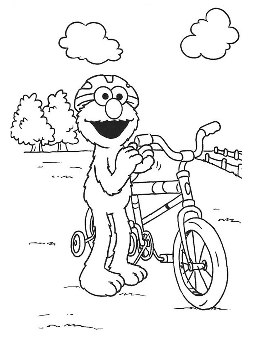For Kid Elmo Coloring Pages 89 For Picture With Elmo Coloring