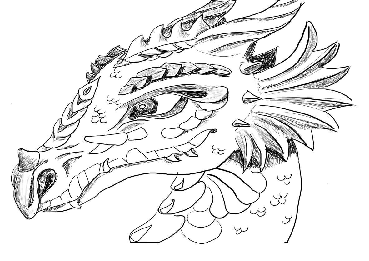 For Kids Download Printable Dragon Coloring Pages 29 For Your Free