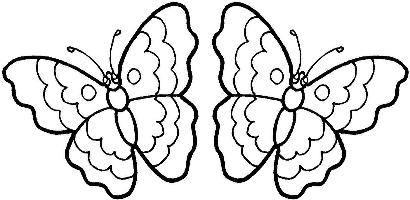 Free Butterfly Coloring Pages Printable Archives And Free