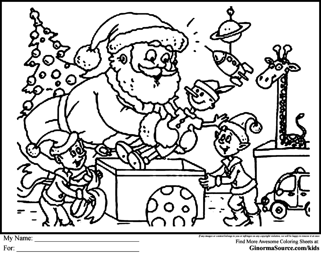 Free Printable Christmas Coloring Sheet Printa 28552 And Pages For