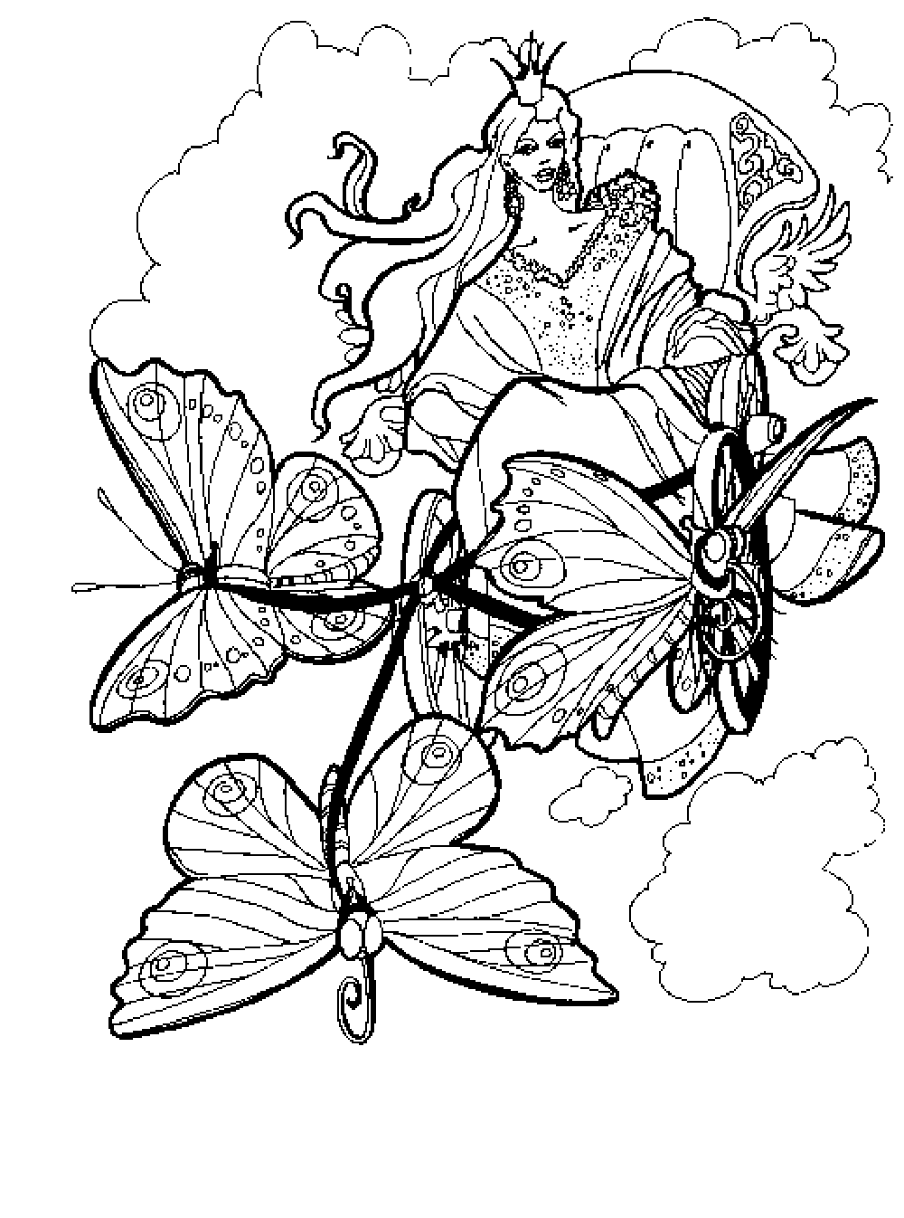 Free Printable Coloring Pages For Adults Advanced At Book And