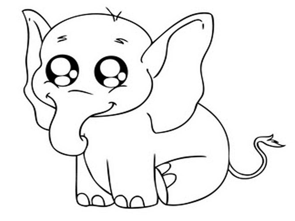 Free Printable Free Elephant Coloring Pages 93 In Drawing With