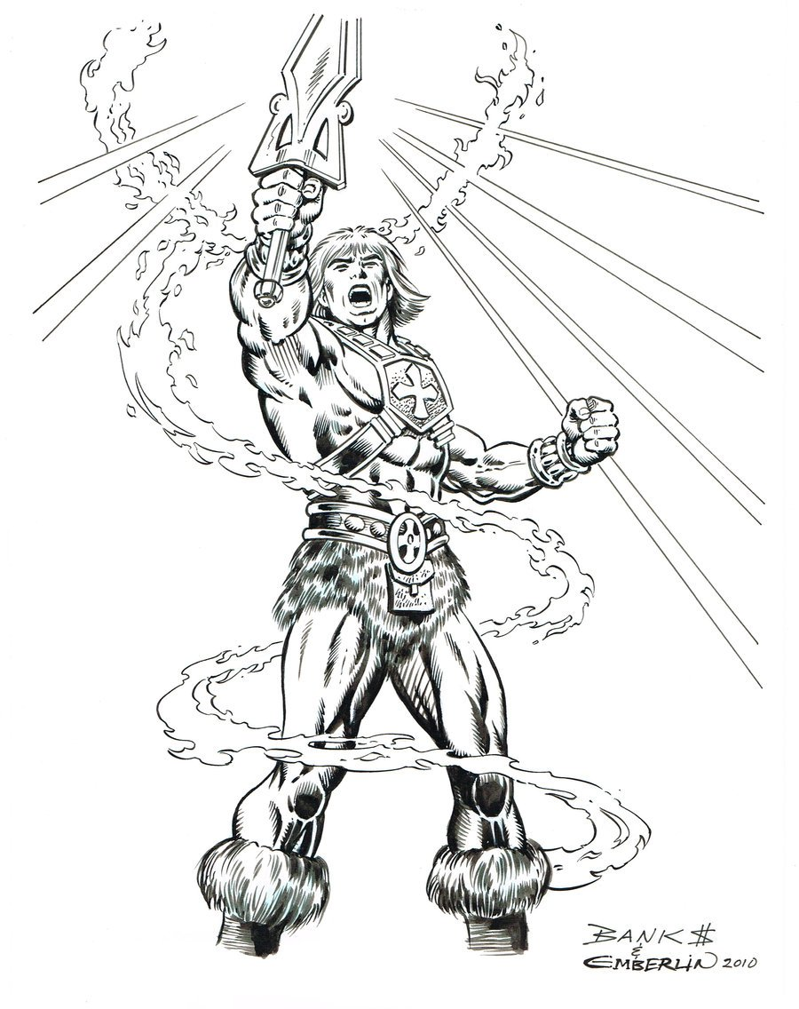 Free Printable He Man Coloring Pages Prin 42671 At