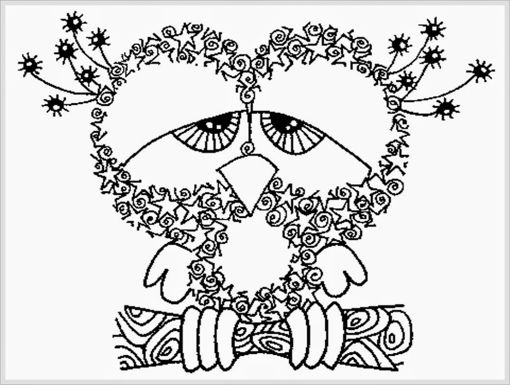 Printable Holiday Coloring Pages For Adults Only