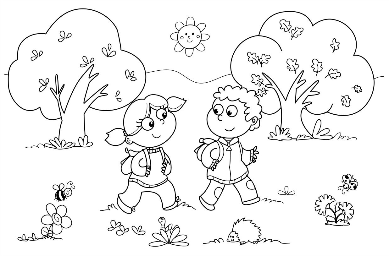 Free Printable Kindergarten Coloring Pages For Kids 27453