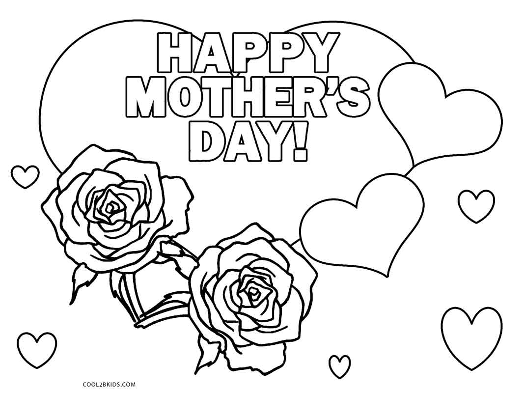 Best Free Printable Mothers Day Coloring Pages For Kids Free 4516