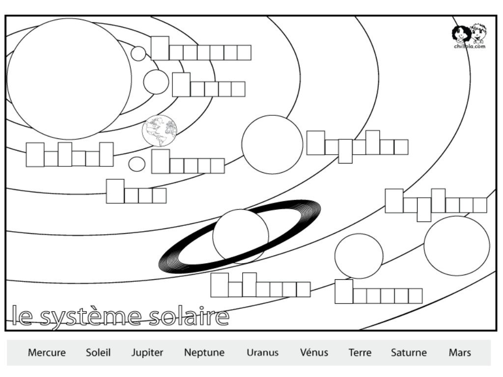 Free Printable Solar System Coloring Pages For Kids The Solar