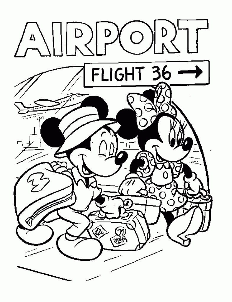 Free Walt Disney World Coloring Pages Archives Best Of Disney