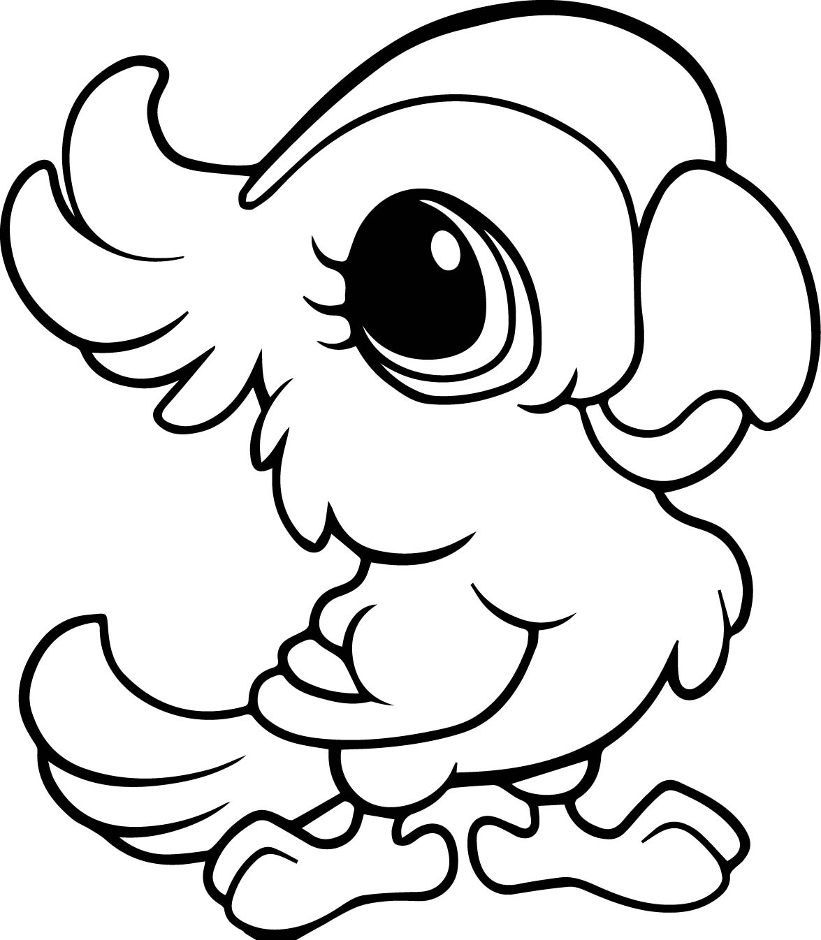 Fresh Cute Animals Coloring Pages 14 For Coloring Print With Cute