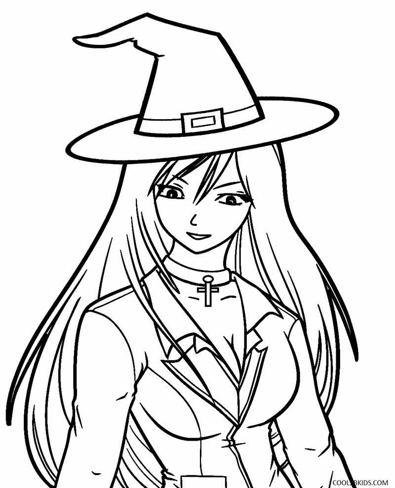 Fresh Witch Coloring Pages 84 On Seasonal Colouring Pages With