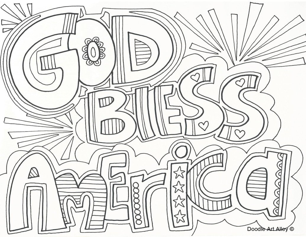 Independence Day Coloring Pages