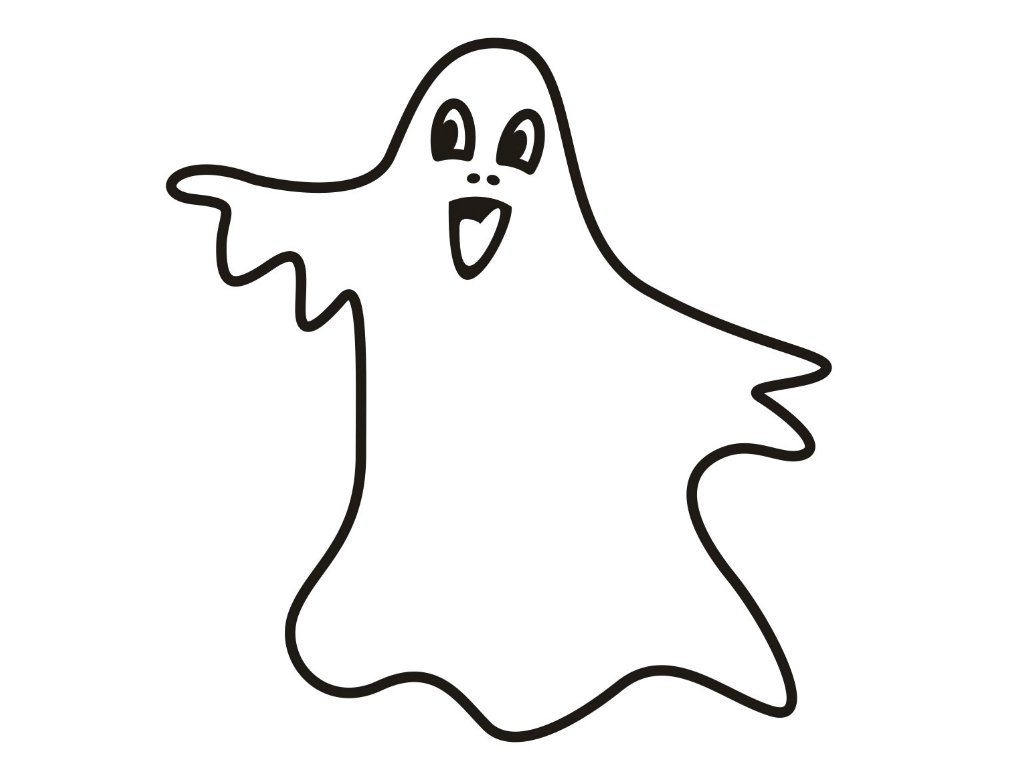 Good Ghost Coloring Page 88 With Additional Coloring Print With