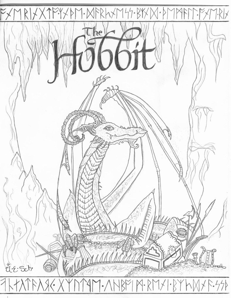 Good Hobbit Coloring Pages 99 In Free Coloring Book With Hobbit