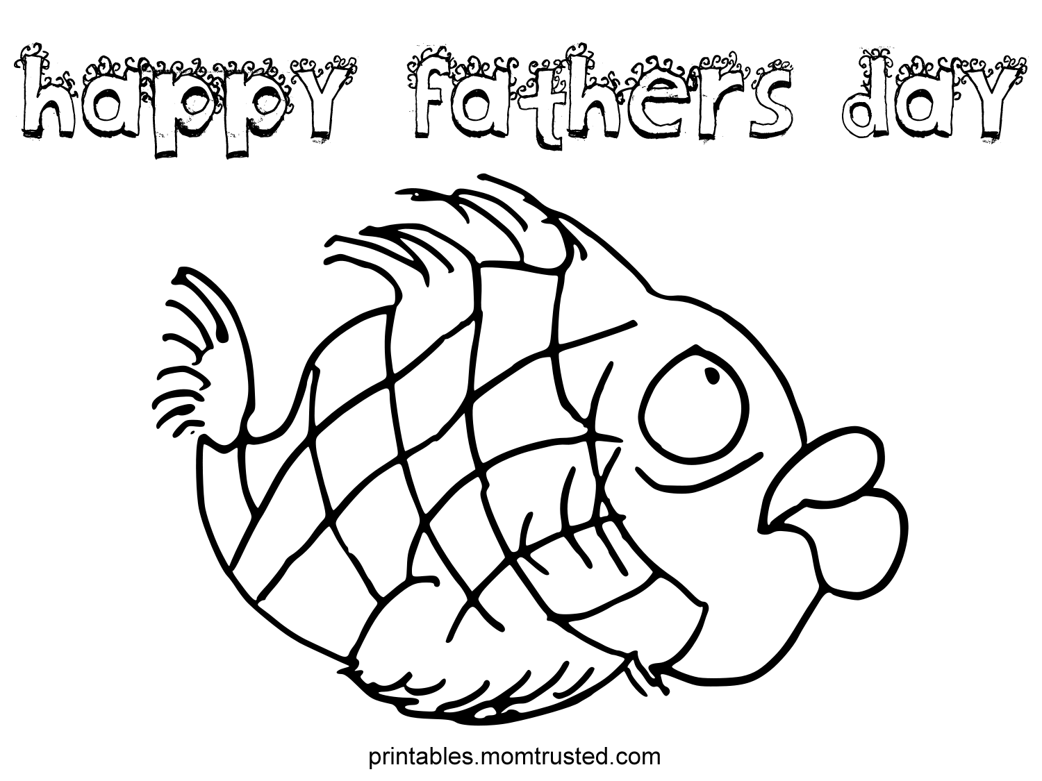 Fathers Day Coloring Sheet Grandfather