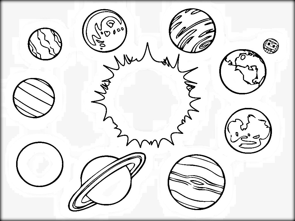 Perfect Solar System Coloring Pages 81 On Coloring Pages For Kids