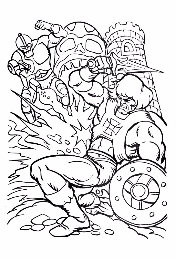 Man Coloring Pages