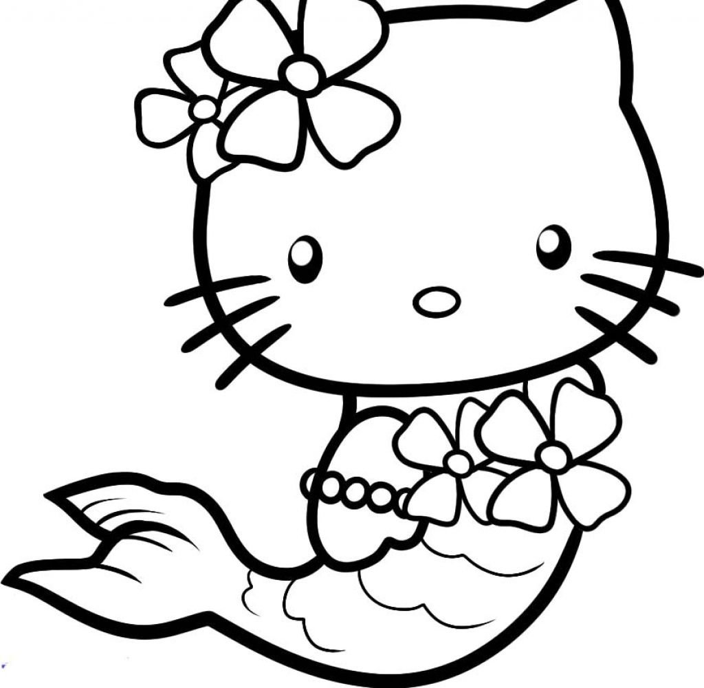 Kitty Printables Coloring Pages