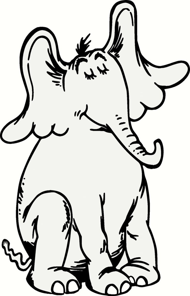 Horton Hears A Who Characters Coloring Pages For Horton Coloring