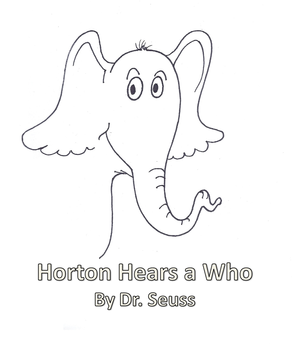 Horton Hears A Who Coloring Page Printable Best Of