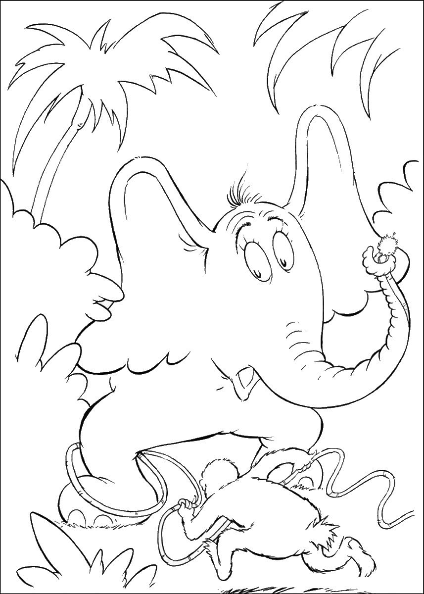 Hears A Who Coloring Pages