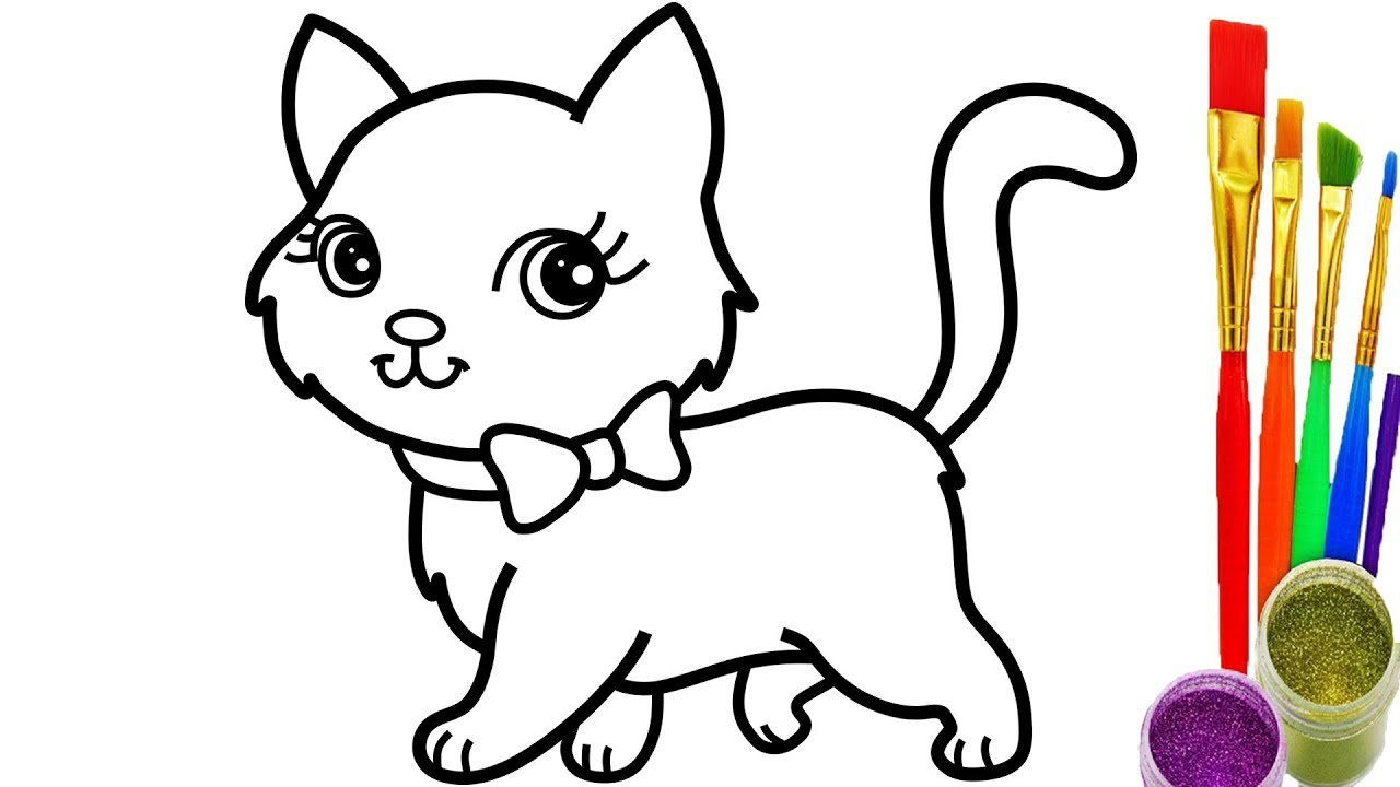 Cats Coloring Pages Free New Cat