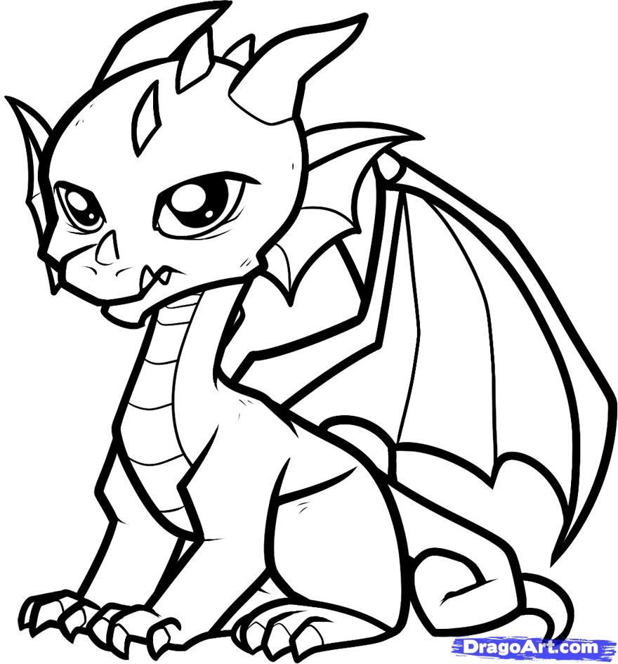 Images Dragon Coloring Sheet 27 For Your Picture With Dragon