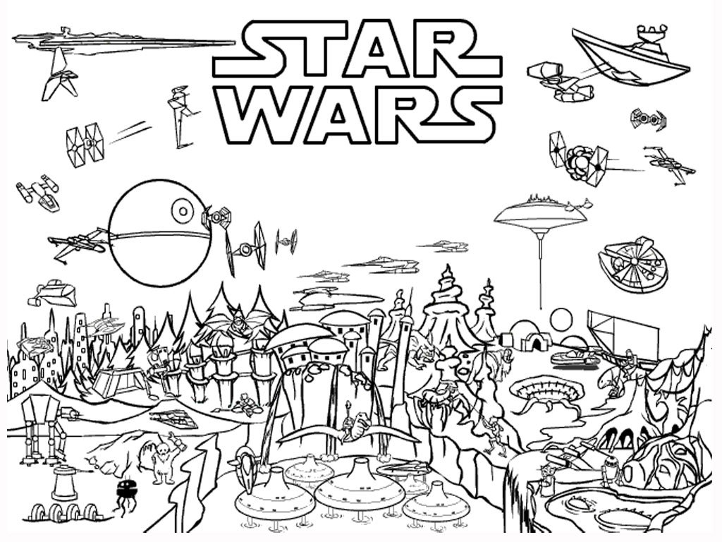Inspirational Star Wars Coloring Pages Free 30 About Remodel