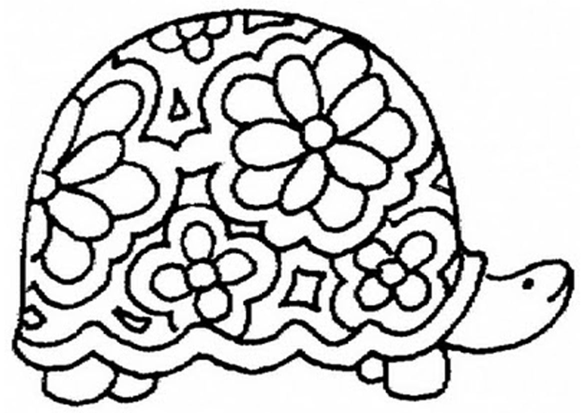 Inspirational Turtle Coloring Pages 46 About Remodel Line Drawings