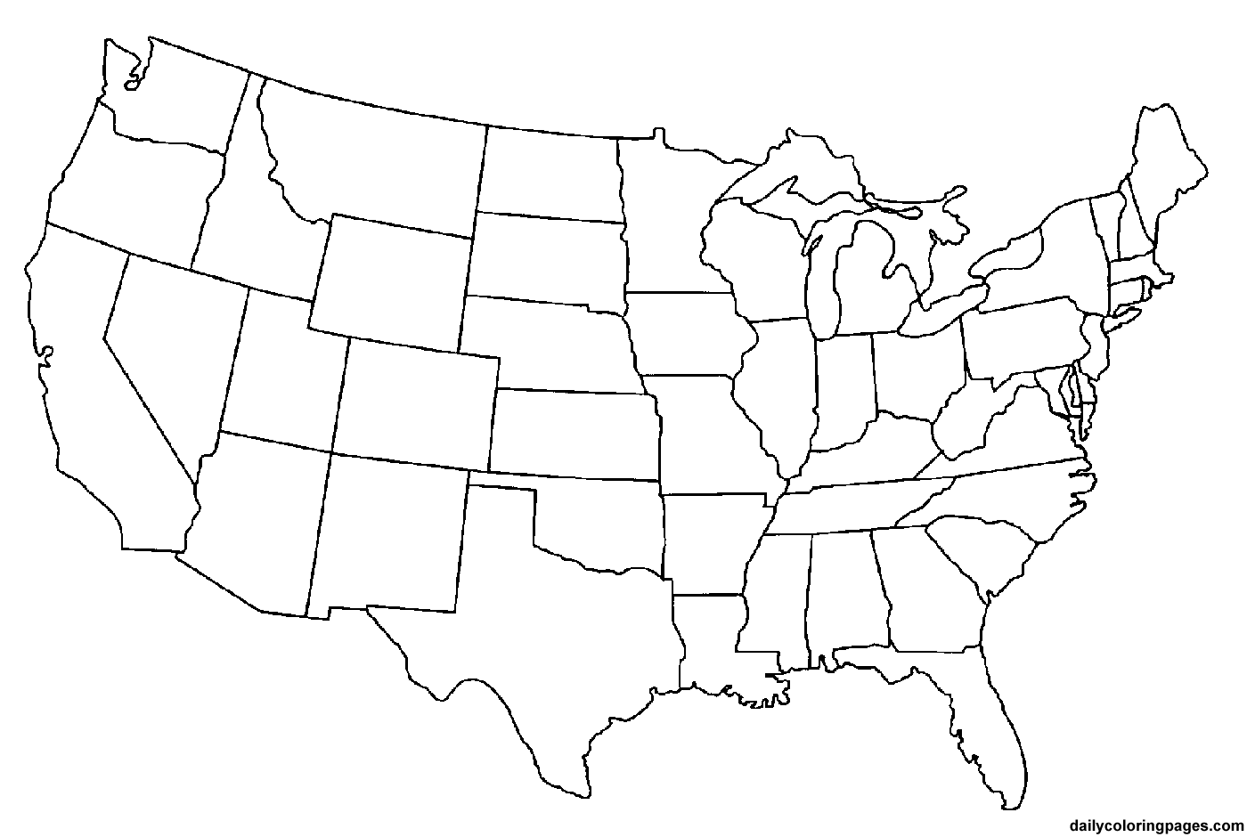 Inspirational Us Map Coloring Page 65 For Your Gallery Coloring