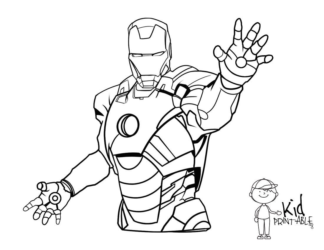 Iron Man Coloring Page Helmet Jpg Pages For Ironman
