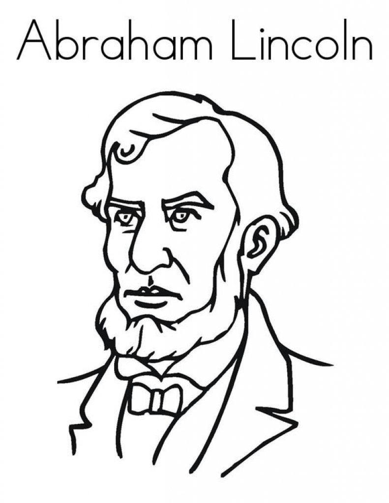 Lets Learn About Abraham Lincoln Coloring Page Free Amp Printable