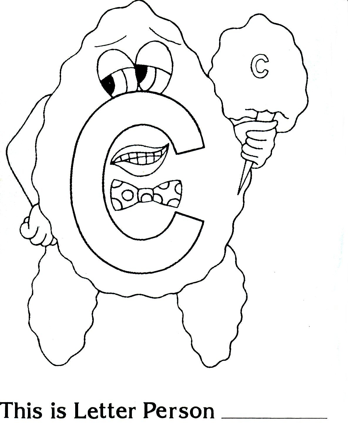 Letter People Coloring Page 28792,