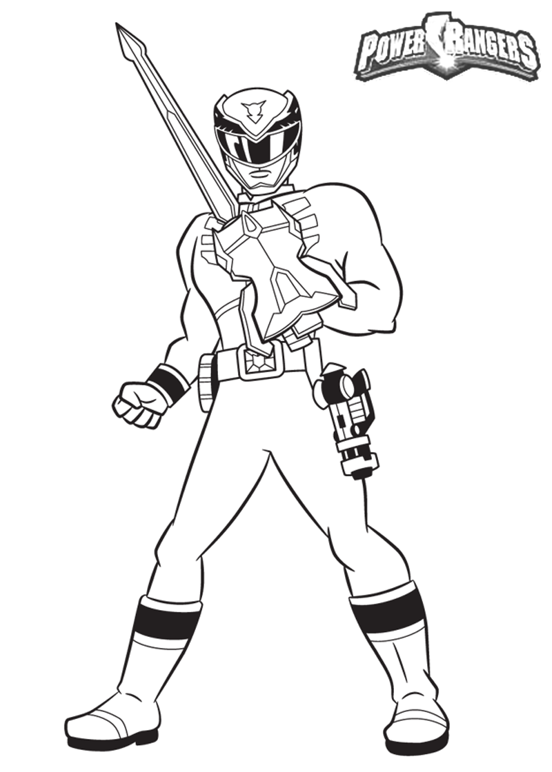 Lovely Power Rangers Coloring Pages 11 On Coloring Pages Online