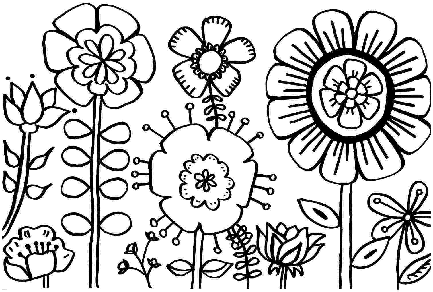 Lovely Spring Coloring Pages Printable 28 On Coloring Pages For