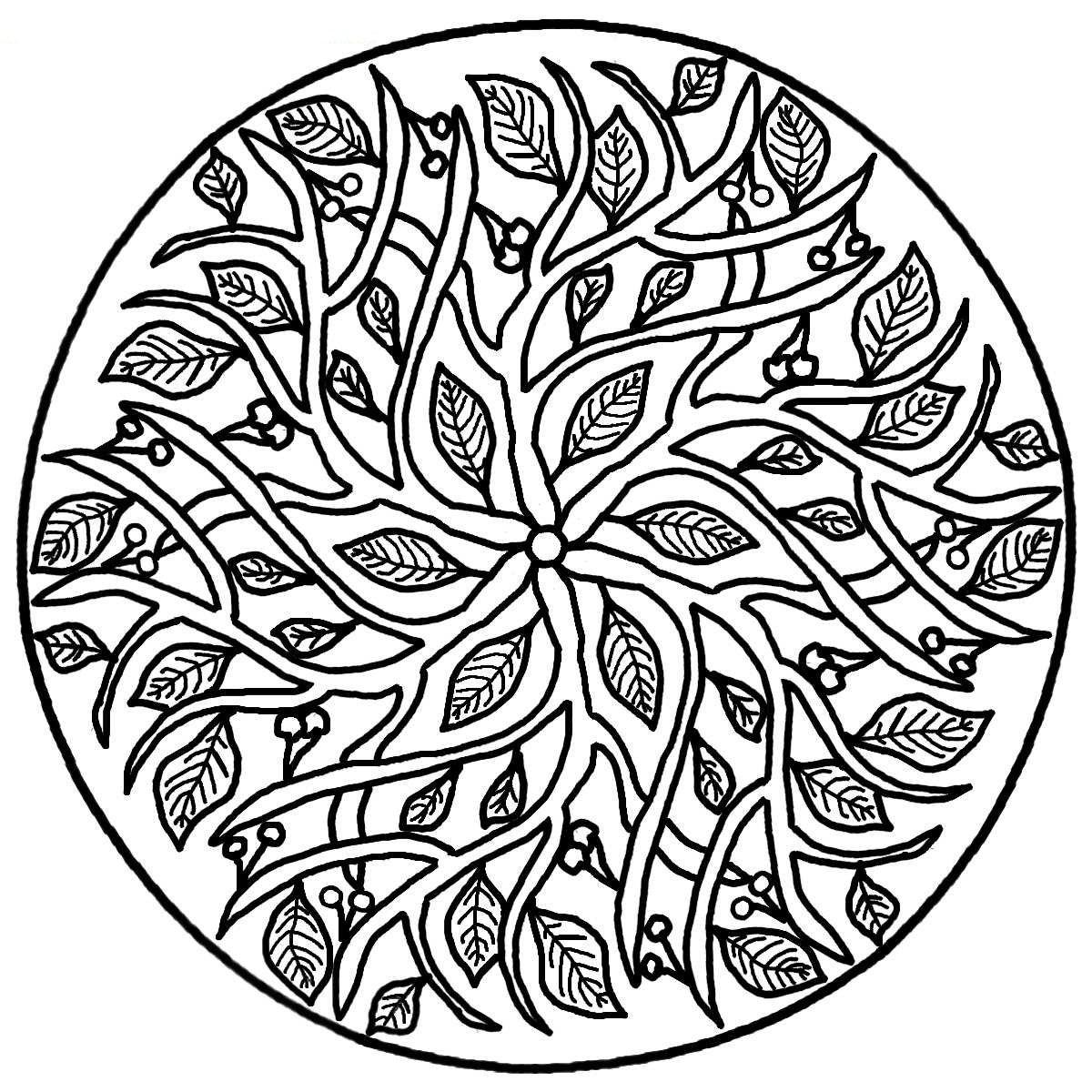 Mandala Coloring Pages (9)