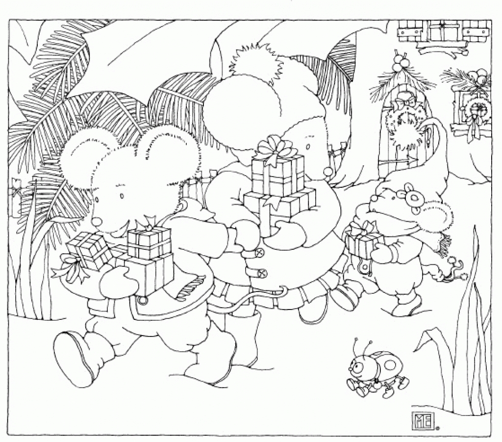 Mary Engelbreit Coloring Pages To Inspire Color Page At