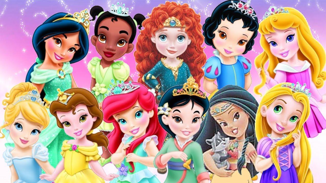 ღ Baby Disney Princess Compilation Movie 2014