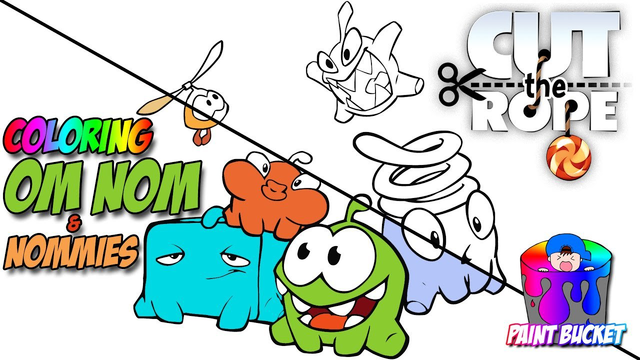 Coloring Cut The Rope