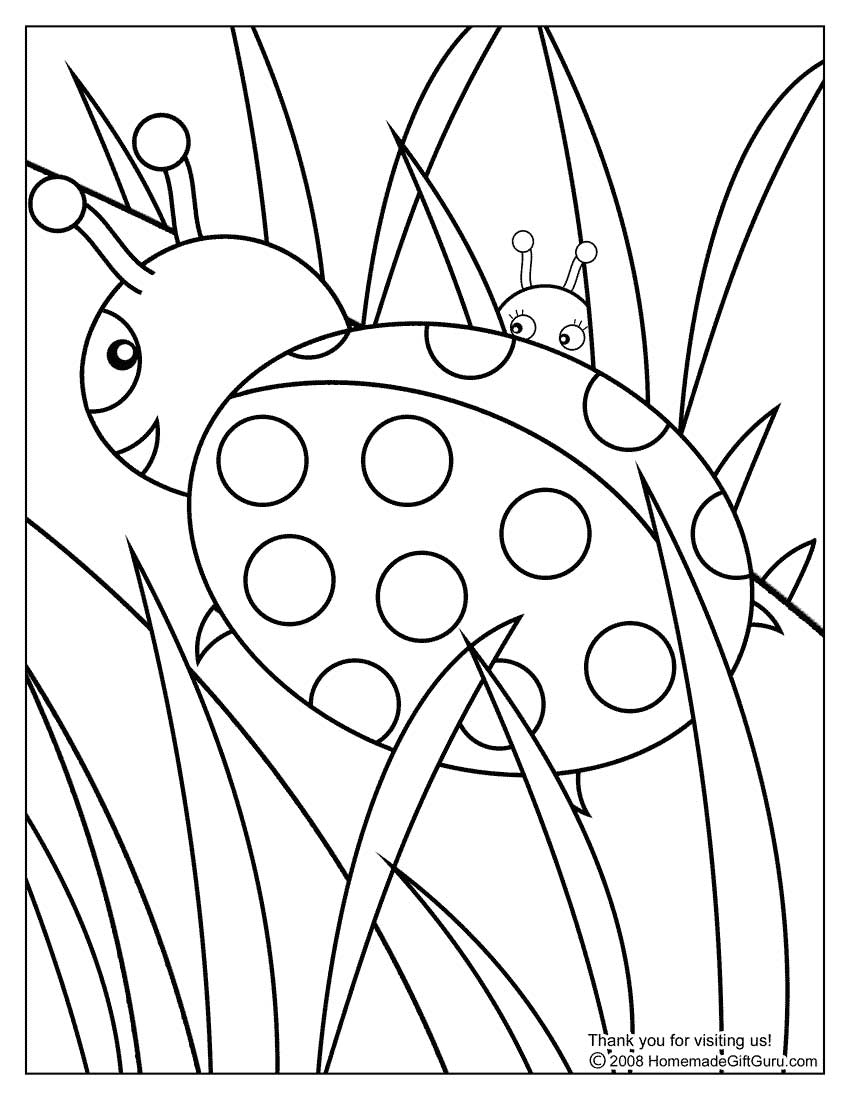 Download May Coloring Pages