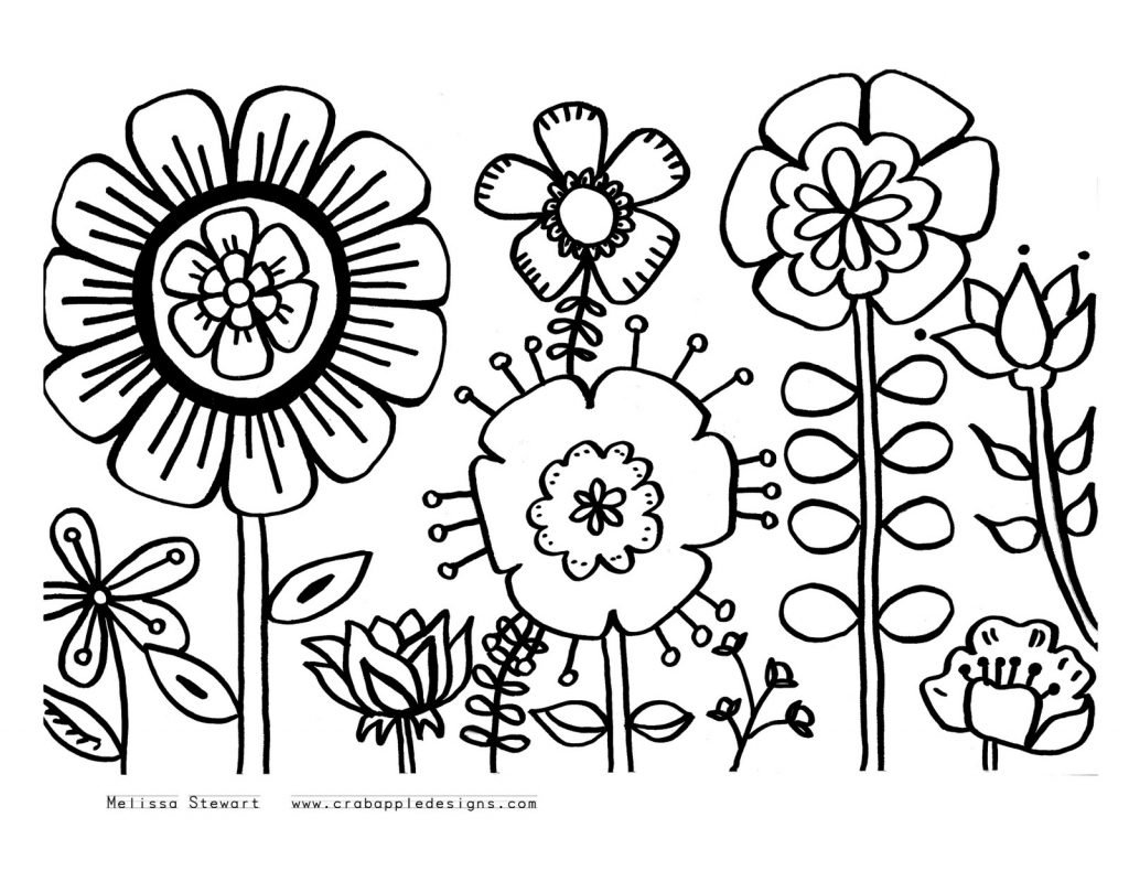 May Coloring Pages To Print Throughout May Coloring Pages