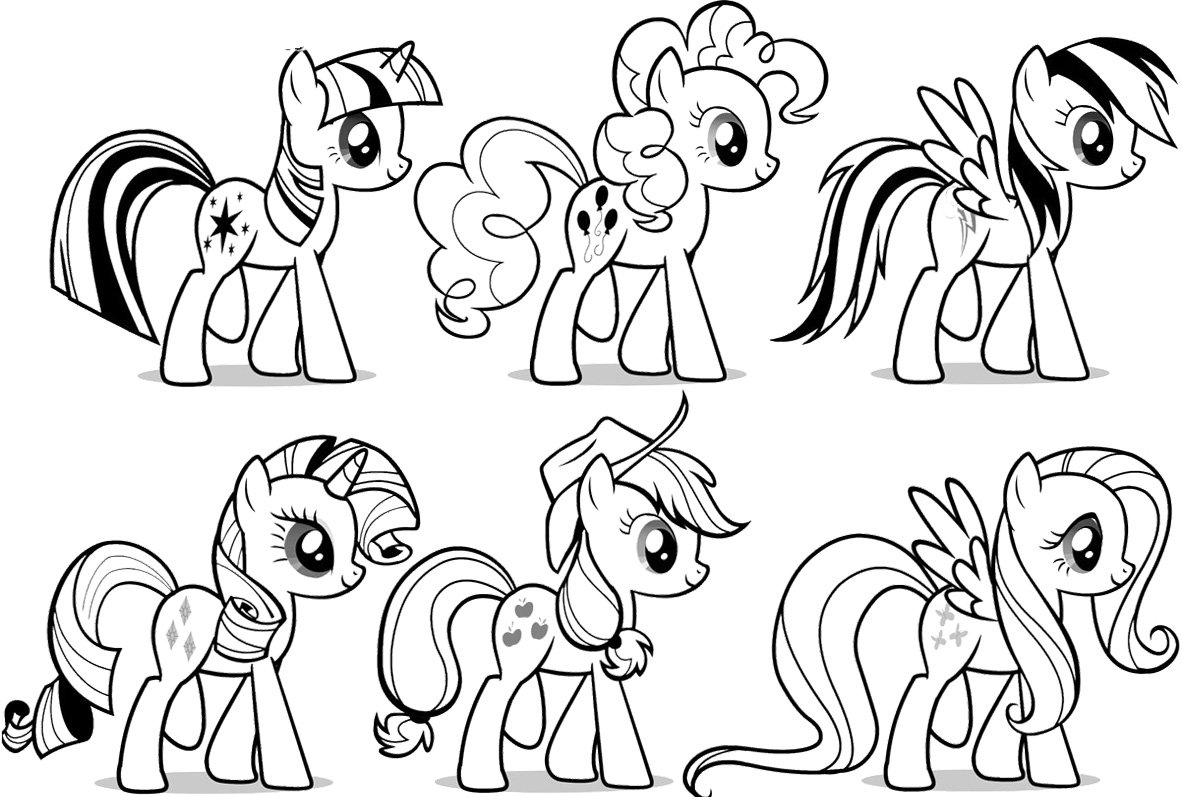 My Little Pony Free Coloring Pages Children Coloring – Pilular