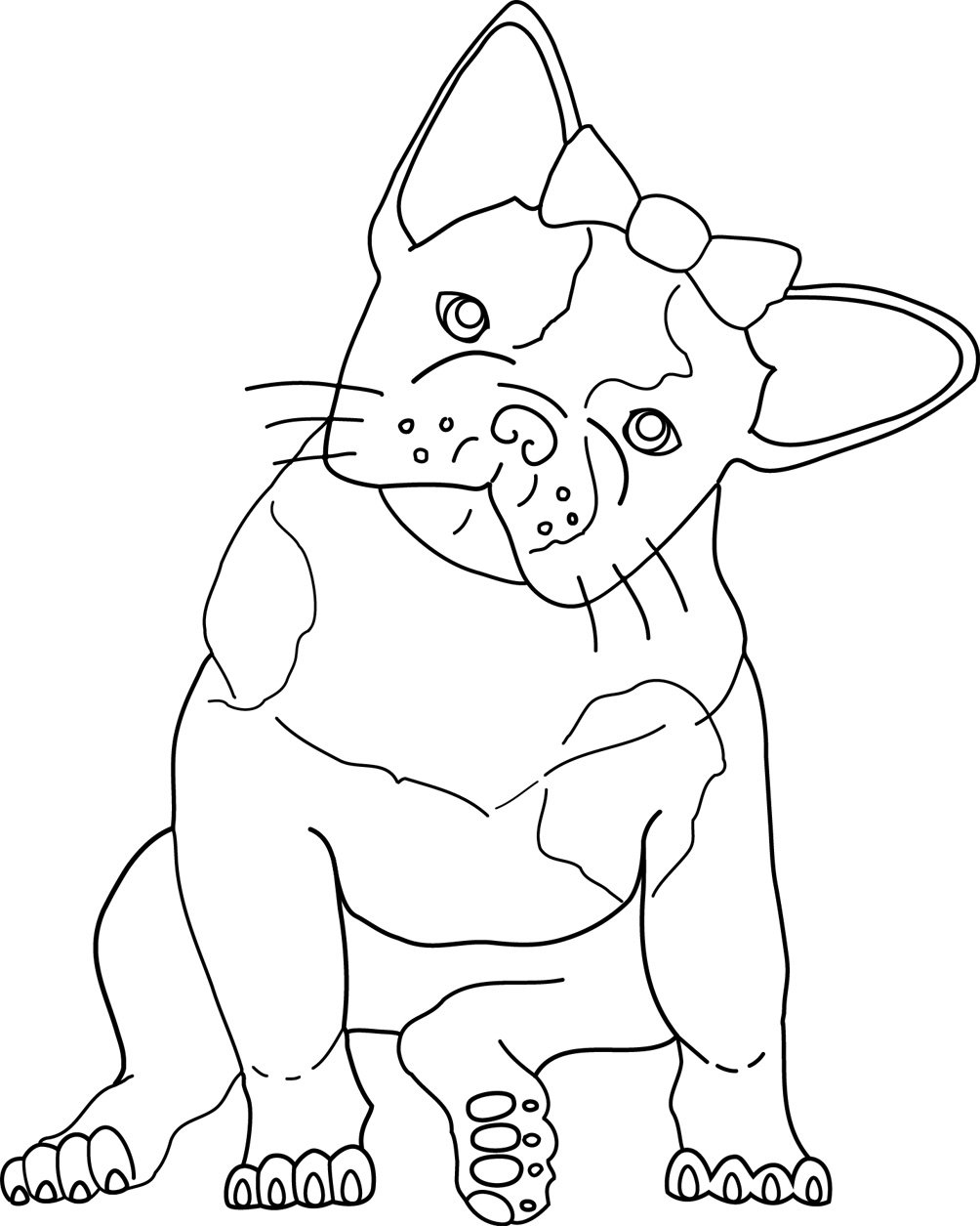 New Bulldog Coloring Pages 28 For Coloring Pages Online With