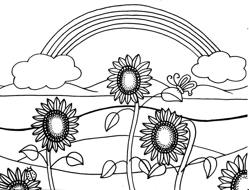 New Free Summer Coloring Pages 73 In Seasonal Colouring Pages With